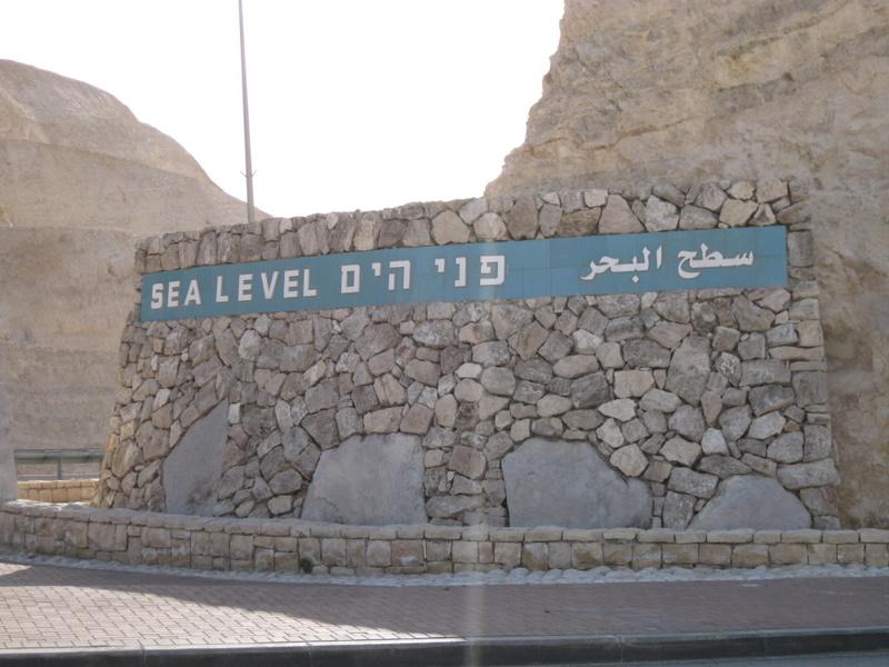 descending below sea level
